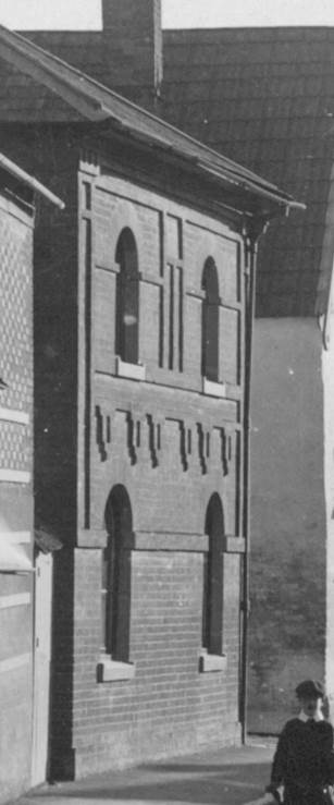 In Edwardian times the same building still looked like a chapel