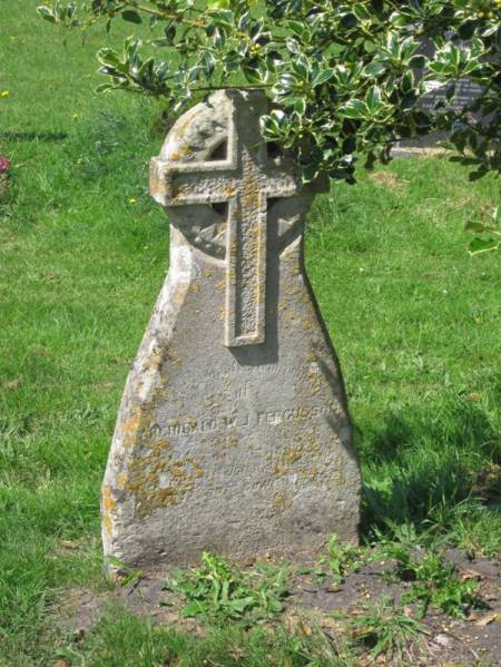 The grave of Archibald Ferusson