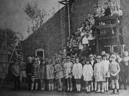 Market Lavington school pupils in 1967