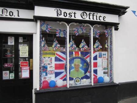 Market Lavington Post Office - 2012