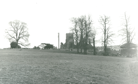 The church across the Grove in 1972
