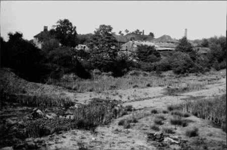 A view of the brick works in 1928