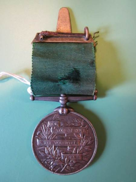 Medal 'For long service in the Volunteer Force'