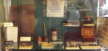 Childhood display at Market Lavington Museum for the 2015 season