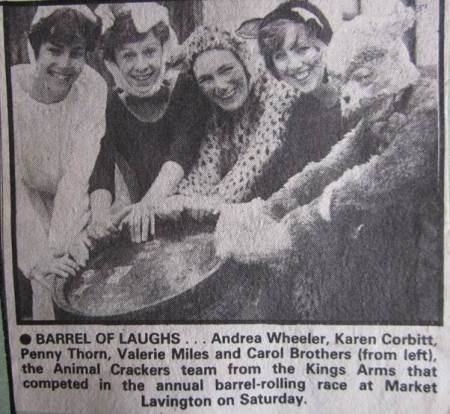 Animal Crackers - a news photo from 1986