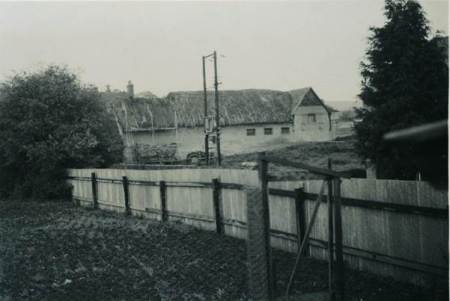Knapp Farm barn in 1957