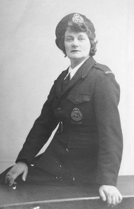 Gladys Windo of Easterton in the Civil Defence Corps