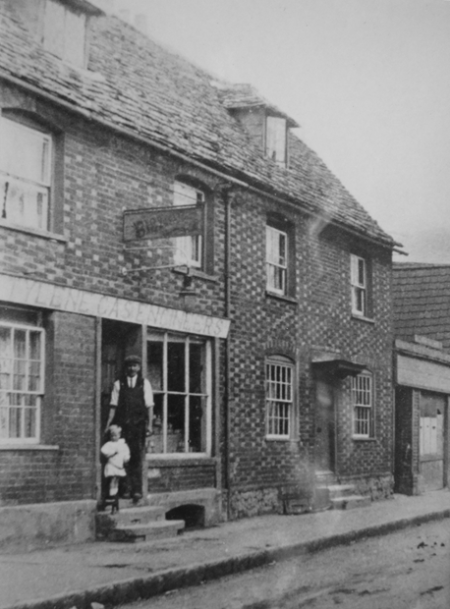 The Lighthouse, Market Lavington in the 1920s