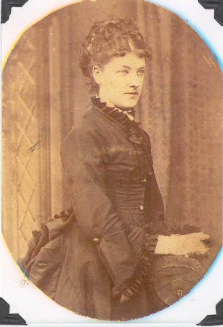 Louisa Baker at about the time of her wedding