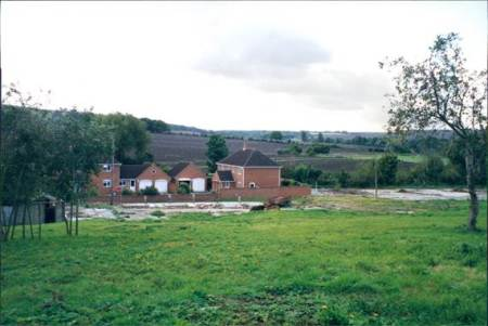 Looking over the Grove Farm site in 1999