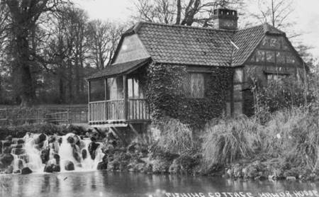 The Fishing Cottage was once a part of the Market Lavington Manor estate