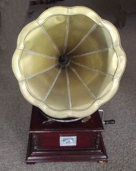 Gramophone at Market Lavington Museum