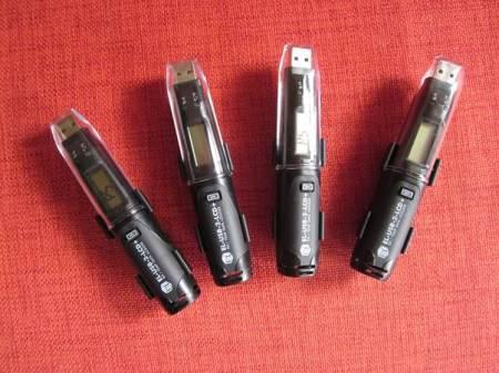 Four USB environmental monitors