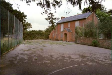 The Old School House in 1983 was soon to be given a new lease of life as the village museum