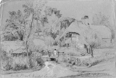Sketch of Northbrook - probably 1840s