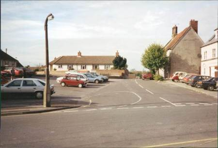 Market Lavington Market Place in 1989