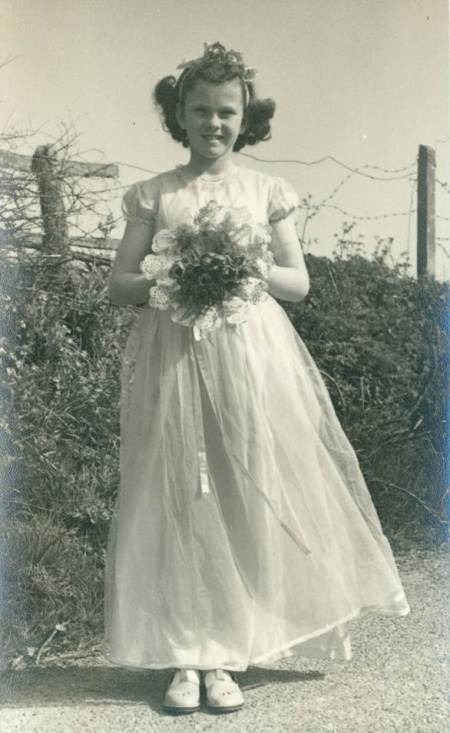 Margery was the bridesmaid when Lilian Blake married Percy Wilkins in 1948