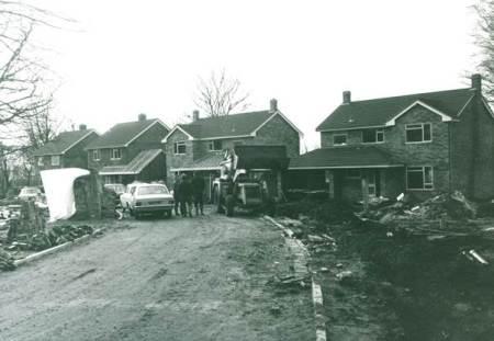 Building Canada Rise - circa 1968