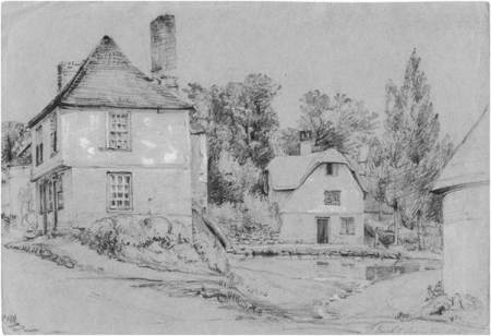Broadwell as sketched by Philip Wynell Mayow in 1837