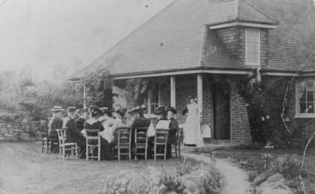 An Edwardian party at Paxtons in Easterton