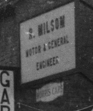 Morris Cars at R. Milsom motor and general engineer