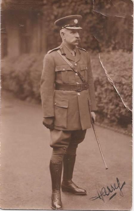 Harry Sanders who died in Market Lavington in 1929