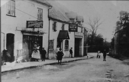 Hopkins Ironmongers and The New Inn - Church Street, Market Lavington