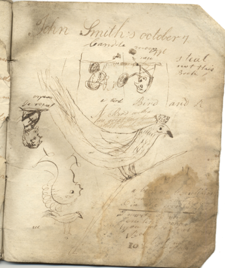 A page from John Smith's 1796 note book