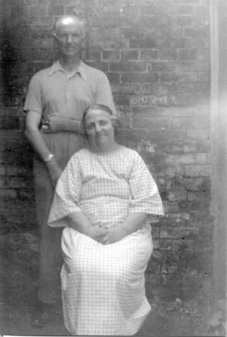 Mr and Mrs Walter Cooper of Market Place, Market Lavington