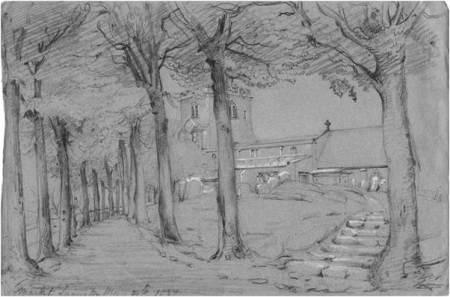 1837 church sketch by Philip Wynell Mayow