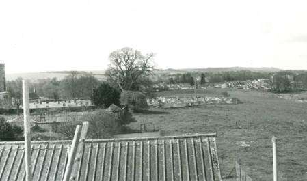 A view from the Racquets Court in 1972