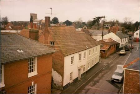 Interesting view of White Street, Market Lavington in the 1980s