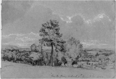 View from Cherry Orchard - 1837