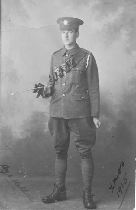 Reg Hillier - Christmas 1915