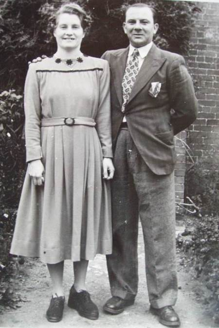 Bert and Flo Shore in the 1940s