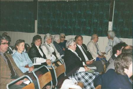 Some of the audience at the 1994 Victorian Evening