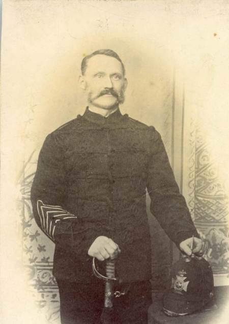 John Baker of Market Lavington in about 1890