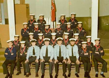 Lavington Sea Scouts in 1978