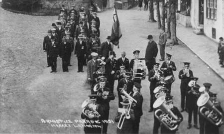 Market Lavington Prize Silver Band in 1931