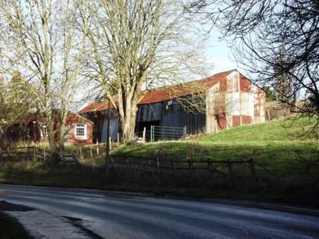 Court Close Farm barns, Easterton in 2012