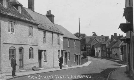 The east end of Market Lavington High Street