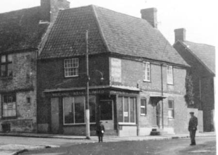 A bank in 1938 but 65 years earlier it had been Mr Pomeroy's shop