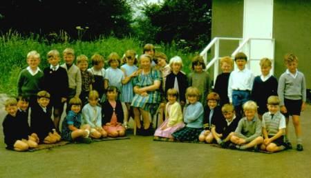 An infant class in Market Lavington
