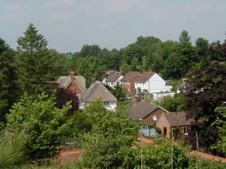 View from Easterton Manor garden