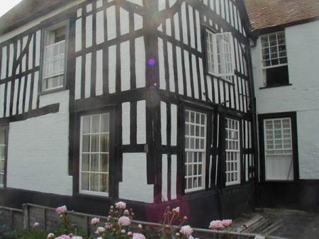 A delightful timber framed structure