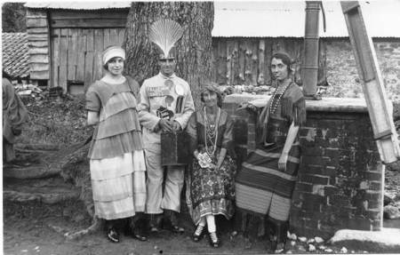Hospital Week in 1923. Fancy dress at Easterton pump