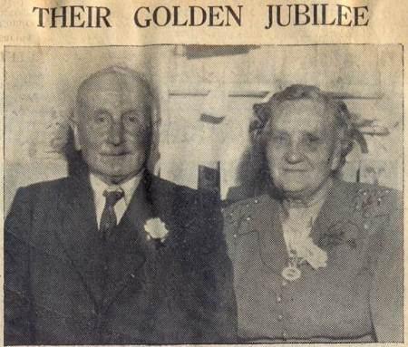 Mr and Mrs George Ellis celebrated their Golden Wedding in 1950