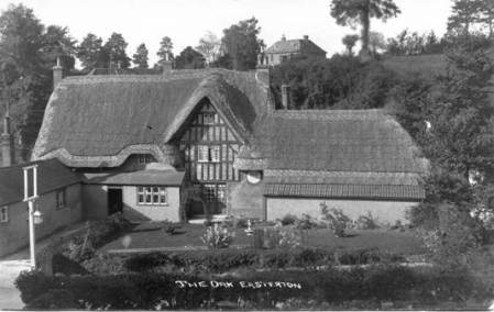 The Royal Oak pub at Easterton - between the two world wars