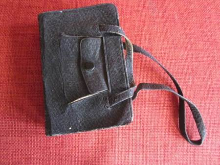 Is it a bag? No! It is a small book.