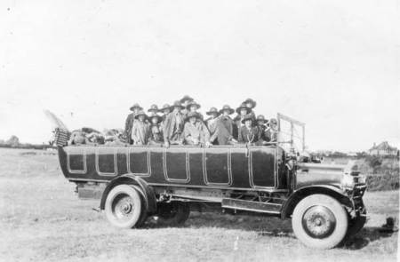The Lavington Girl Guides of 1926 went camping at Paignton